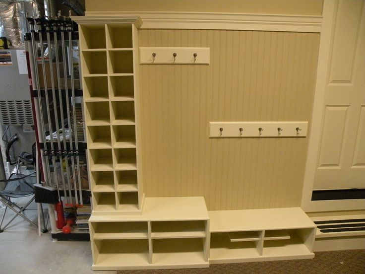 17 best images about garage mudroom ideas on pinterest for Garage mudroom