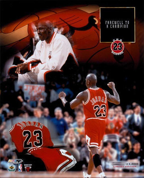 MJ and his last game as a Bull  * Image property of AllPosters.com. All rights reserved.