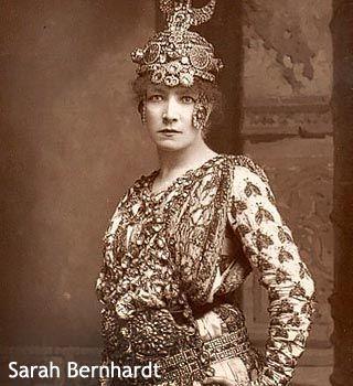 Сара Бернар, (1844-1923), французская актриса