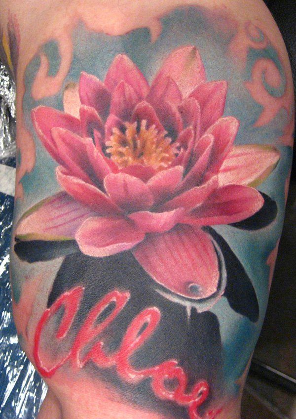 27 lotus tattoo