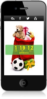 How far is it from Christmas?  Use Christmas Countdown app to count down to it! #christmas #christmascountdown