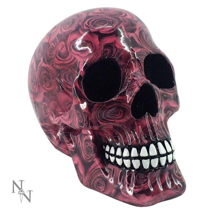 Nemesis Now Romance schedel beeld roze – Fantasy – Nemesis Now | Attit
