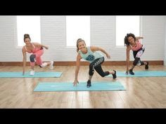 Torch calories and get ready to sweat with this low-impact cardio workout. POPSUGAR Fitness offers fresh fitness tutorials, workouts, and exercises that will...