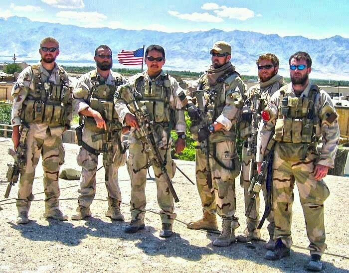 Navy Seals, gone but not forgotten. Lone Survivor Marcus Luttrell (3rd from right)...