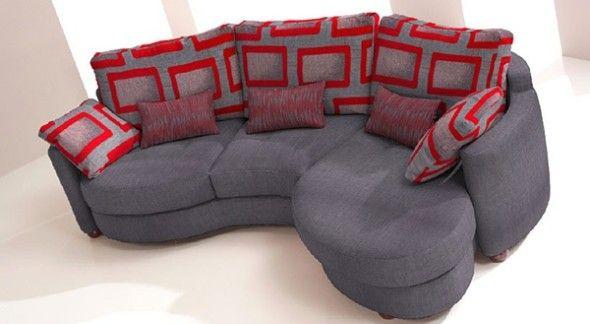 curved modular sofas