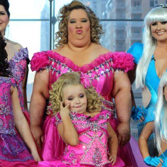 Honey boo boo now and later