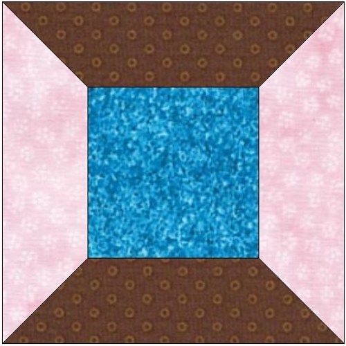 Quilting Thread Patterns : All stitches -thread spool paper piecing quilt block pattern pdf -113a