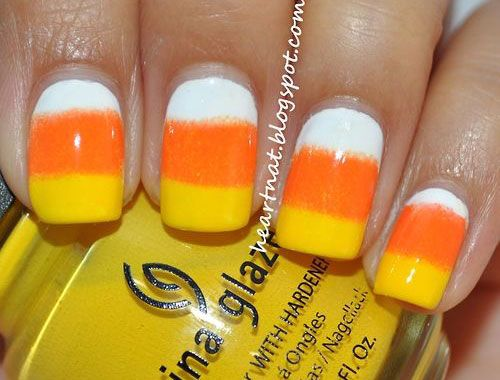 38 best halloween candy corn nail art images on pinterest i am unfolding before you 15 halloween candy corn nail art designs ideas trends stickers of prinsesfo Image collections