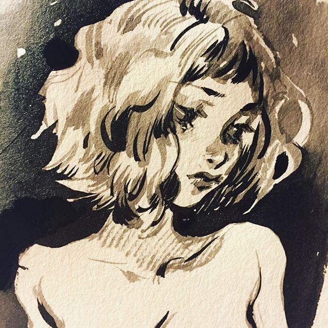 Sketches between work - leslie hung
