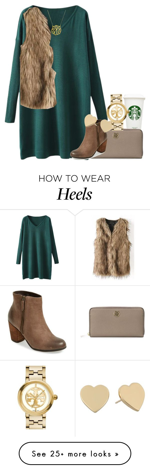 """""""head over heels"""" by econgdon on Polyvore featuring Tory Burch, BP. and Kate Spade"""