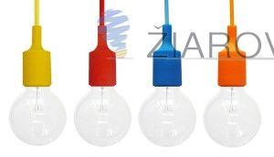 Silikónové závesné svietidlá sú štýlové závesné káble so silikónovou objímkou na žiarovky s päticou E27 a textilným káblom v rôznych farebných prevedeniach. Tieto závesné