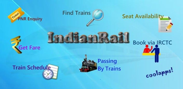 Indian Rail Train and IRCTC Info For PC Download (Windows 7, 8, 10, XP) - Free Full Download