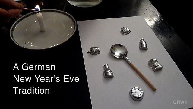 German NYE Tradition: Bleigiessen (Fortune Telling through Molybdomancy) - In A Berlin Minute (Week 139) by Luci Westphal. Bleigießen (Molybdomancy) is a North European New Year's Eve tradition that goes back all the way to  Ancient Greece.