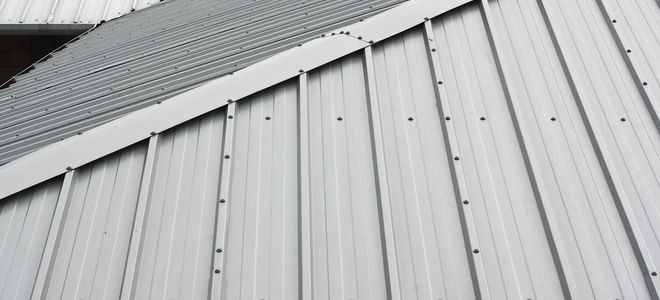 Corrugated Metal Roofs Are Durable And Best For Outhouses And Sheds Paint Them Up To Boost Your Curb Appeal In 2020 Metal Shed Roof Metal Roof Metal Roof Paint