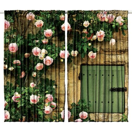 Bring the beauty of nature to your scheme with these digitally printed curtains, the perfect additions to your country-style living room or conservatory sche...