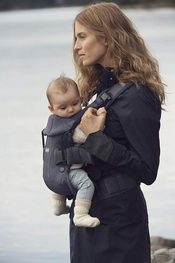 BABYBJÖRN Baby Carrier One Air, 3D Mesh, Anthracite, <b>2018</b> ...