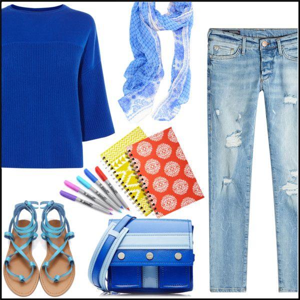 School in Blue