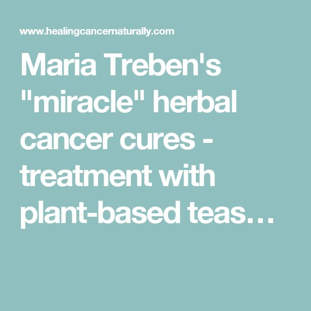 """Maria Treben's """"miracle"""" herbal cancer cures - treatment with plant-based teas…"""