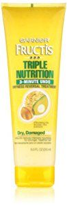 Garnier Fructis Triple Nutrition 3 Minute Undo Dryness Reversal Treatment, 8.50 Fluid Ounce - http://womensfragrancesperfumes.com/beauty/hair-care/conditioners/garnier-fructis-triple-nutrition-3-minute-undo-dryness-reversal-treatment-850-fluid-ounce-com/