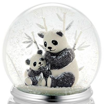 Beaded Panda Water Globe at Things Remembered