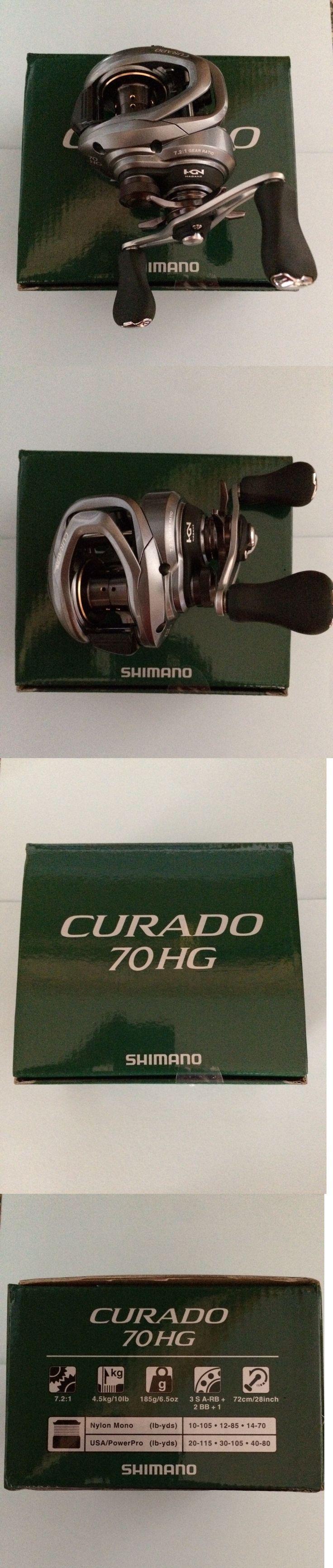 Baitcasting Reels 108153: Shimano Curado 7.2:1 Cu70hg Casting Fishing Reel -> BUY IT NOW ONLY: $159.95 on eBay!