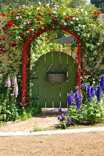 318 Best Garden Gates Images On Pinterest | Gardens, Windows And Garden  Fences