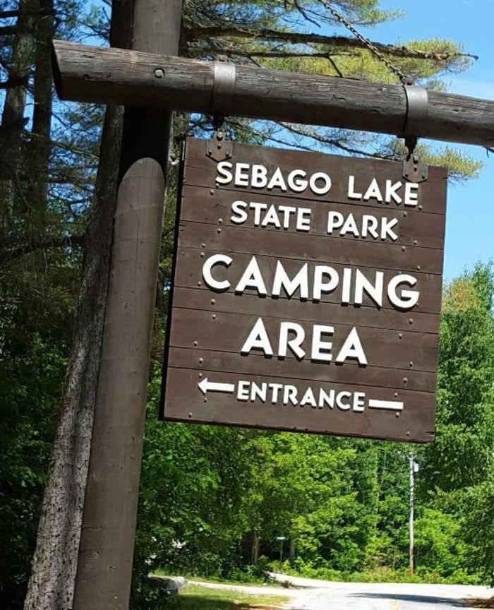 1. Sebago Lake State Park, Casco