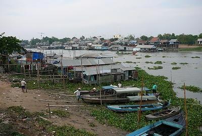 Mei-Kong River in Da-nang Vietnam