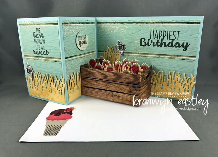 Hi there!  Welcome to addinktive designs and the latest blog hop for The Stamp Review Crew.  This round we are focussing on the stamp set, Cool Treats.   The SRC are a group of International Stampi…