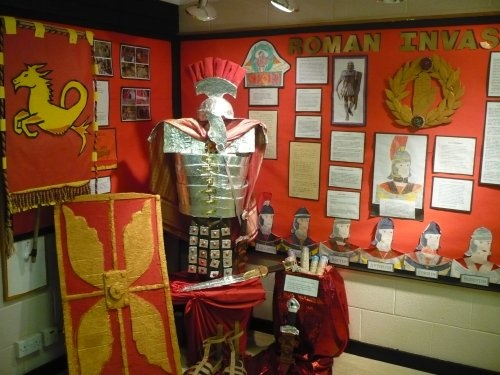 Fab Romans display