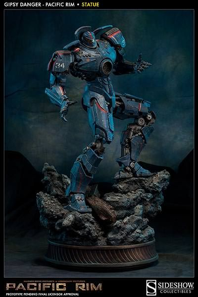 Pacific Rim Gipsy Danger: Pacific Rim Statue by Sideshow Col   Sideshow Collectibles