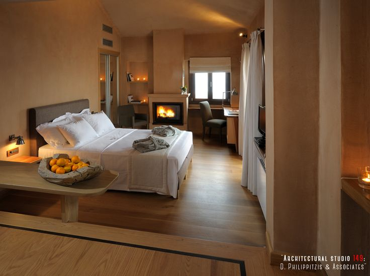 Bedrooms _ Pelion | hotel | room | detail minimal | interior design | modern equipment |  renovation | reuse | traditional architecture _ visit us at: www.philippitzis.gr