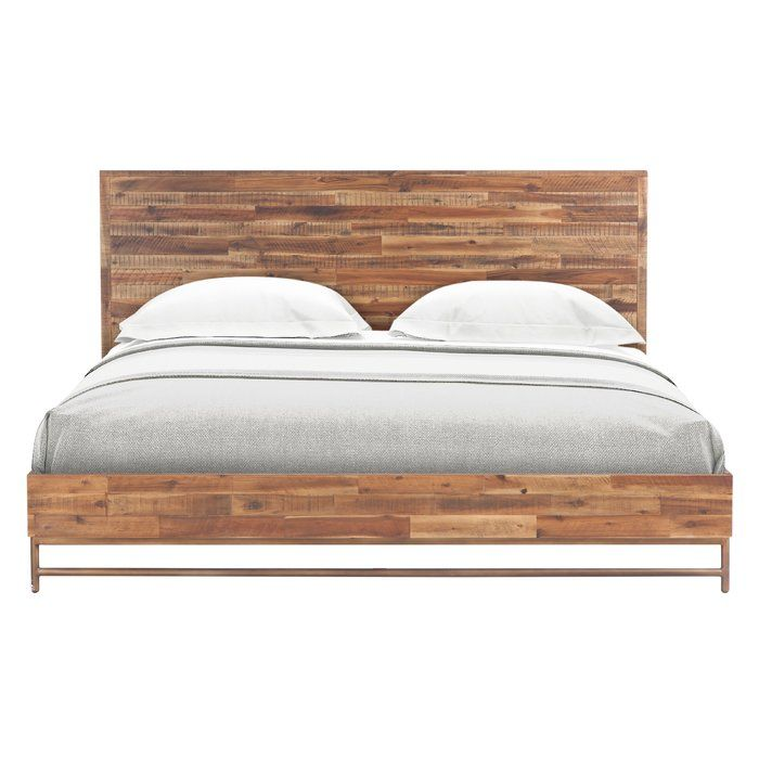 Wooden Panel Bed | 2018 | Pinterest | Platform beds, Cookware and ...