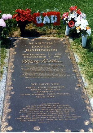 "Marty Robbins (1925 - 1982) Multi-talented singer who was successful in a wide variety of styles though usually considered a country singer, sang ""El Paso"", ""A White Sport Coat (and a Pink Carnation)"", and ""Devil Woman"""