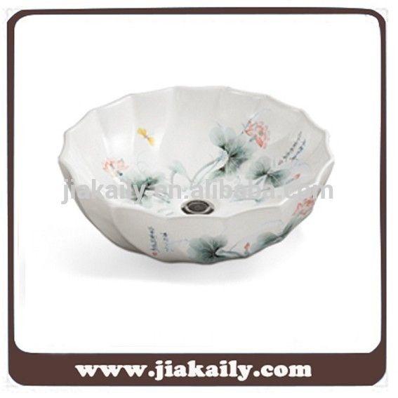 JKL-327 Chaozhou Porselen eşya yeni tasarım desenli seramik sanat lavabo lavabolar, m.turkish.alibaba.com adresindeki Banyo - Banyo Lavabo kategorisinde.