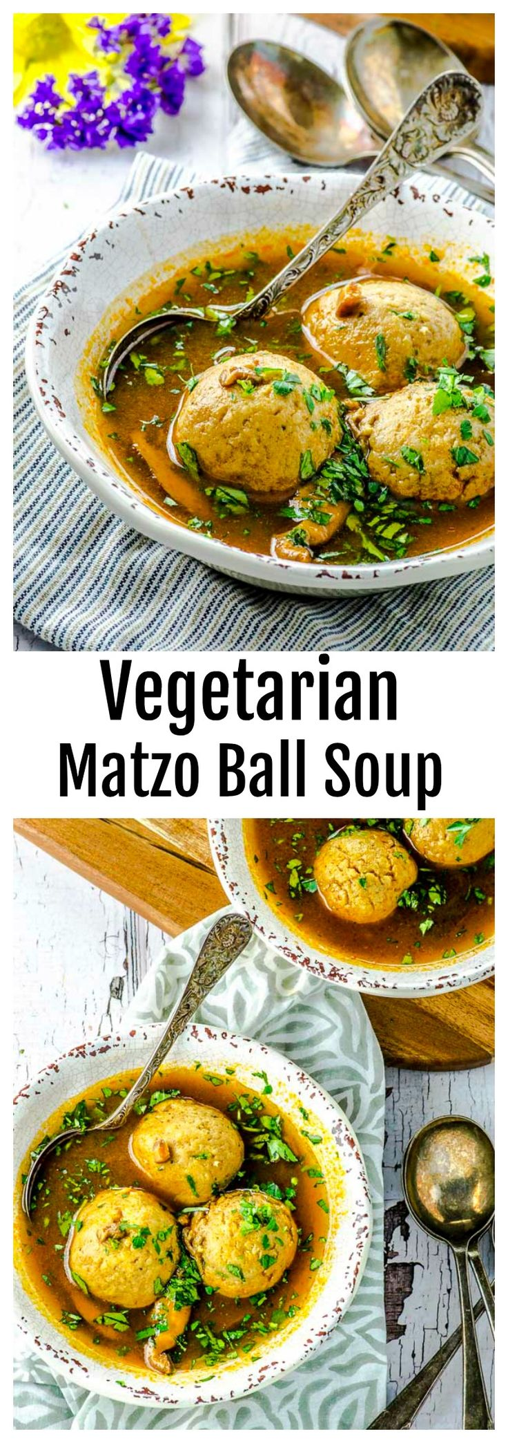 The Best Vegetarian Matzo Ball Soup - May I Have That Recipe