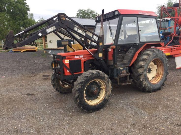 Zetor 5340 Tractor. 70HP With Trimma Loader. M Reg 1995. Good Tractor