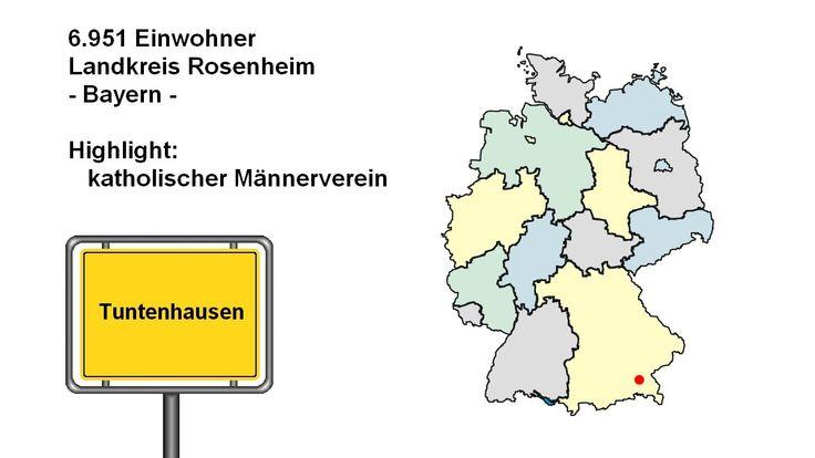 lustige Ortsnamen in Deutschland