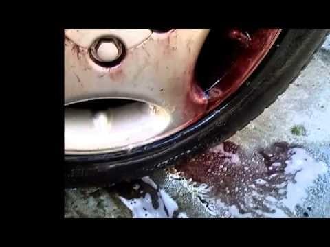 Mycie felg żelem/Wheel washing gel