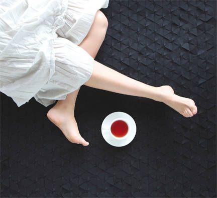 Busca imágenes de diseños de Hogar estilo translation missing: mx.style.hogar.eclectico}: Tapete COLMENA 1.50 x 1.50 (m). Encuentra las mejores fotos para inspirarte y y crear el hogar de tus sueños.