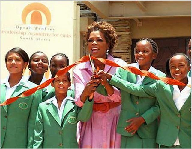 The Oprah Winfrey Foundation Oprah runs The Oprah Winfrey ...