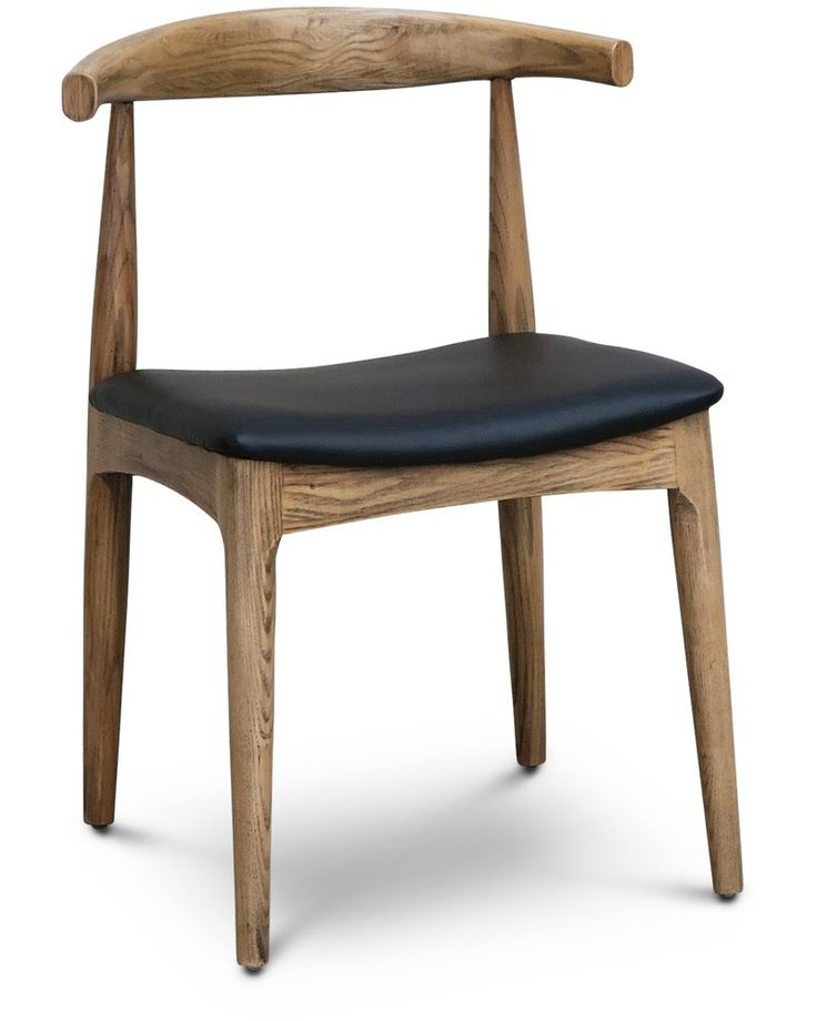 Hans wegner replica elbow chair, natural ash - Cintesi