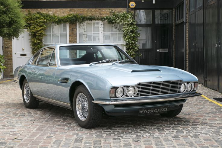 1969 Aston Martin DBS Vantage 5 Speed Manual