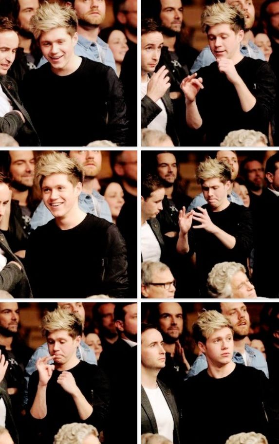Niall Horan just being...adorable. <3