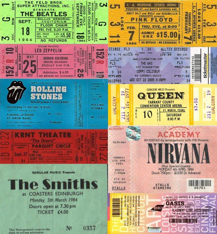 Best 25 Concert Tickets Ideas On Pinterest Concert