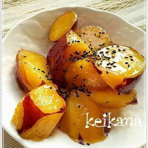 材料3つ!炊飯器×千歳飴で超簡単☆大学芋 by keikanaさん | レシピブログ - 料理ブログのレシピ満載! 七五三の千歳飴、ついつい残りがちですよね~。そんな時は秋の味覚、さつまいもと一緒に炊飯器に入れてスイッチオン!