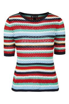 Multi-Colour Crochet Tee