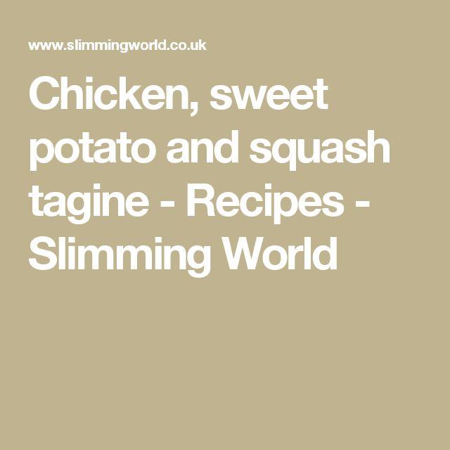 Chicken, sweet potato and squash tagine - Recipes - Slimming World