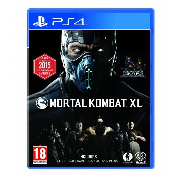Mortal Kombat Xl PS4 Game | http://gamesactions.com shares #new #latest #videogames #games for #pc #psp #ps3 #wii #xbox #nintendo #3ds
