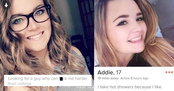 Tinder Users Who Shared Way Too Much Information On Their Profile